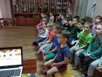 Воспитанникам детского сада №76 «Солнышко» о пожарной безопасности